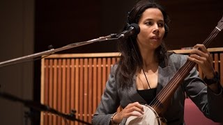 Rhiannon Giddens - Lonesome Road / Up Above My Head (Live on 89.3 The Current)