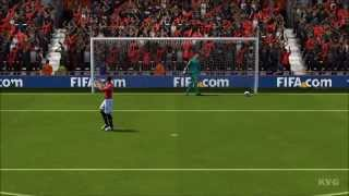 FIFA 14 - Manchester United FC vs. Atlético Madrid Gameplay [HD]