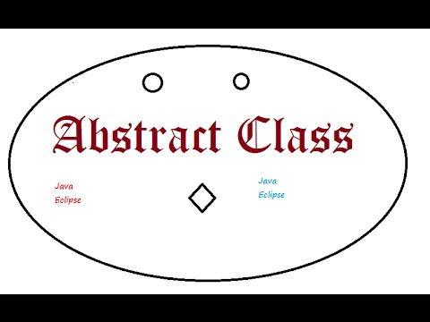 Abstract class in java programming extends implements interface code ...