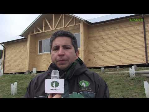 INFOR inauguró primera vivienda social de Pino Ponderosa en la Patagonia