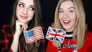 [ASMR?] Accent Tag Challenge - American vs. English thumbnail