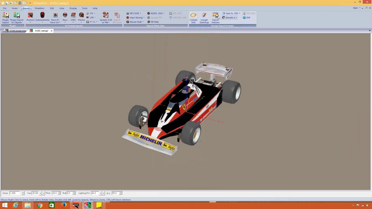 rFactor 2: Car Tutorial  Part 1: Getting the car in game!