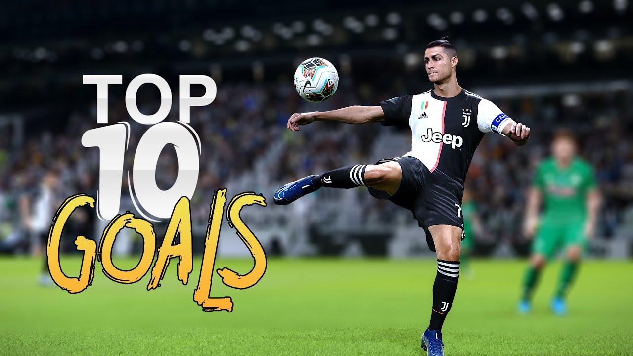 Download PES 2020 - CRISTIANO RONALDO TOP 10 GOALS HD