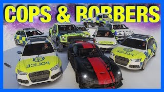 Forza Horizon 4 Online : Cops and Robbers!!