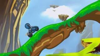 Power Rangers Samurai Motocross - Super Heroes Games 4 Kids