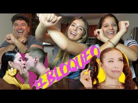 FAMILIA LEGARDA  REACCIONA A BLOQUEO (roast yourself challenge) - LUISA FERNANDA W