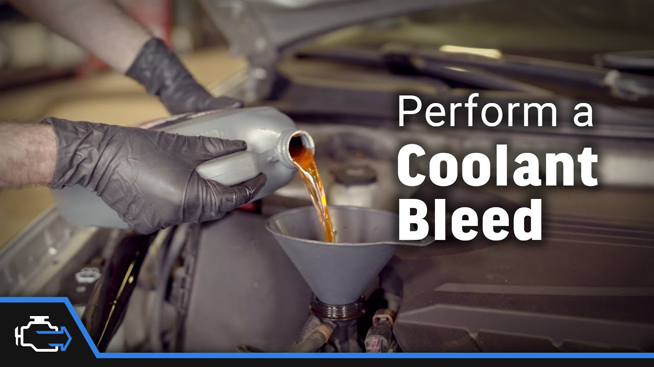 coolant bleed 2006 2013 3 5l chevy impala [ 1280 x 720 Pixel ]