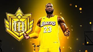I HIT ELITE 3 on my LEBRON JAMES BUILD in NBA 2K20 - MASCOTS, FIREWORKS, LEGEND SOON!