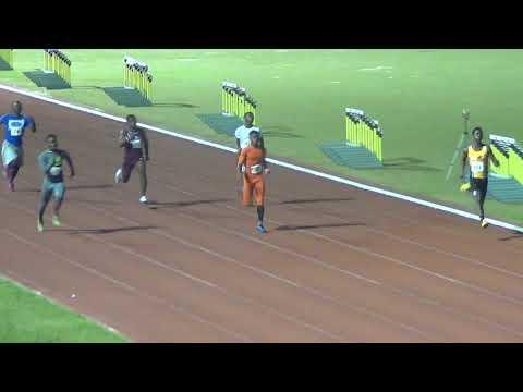 T-Bird flyers 2019 under 20 boys 100 m heat 1