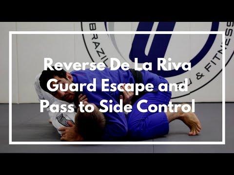 Reverse De La Riva Guard Escape and Pass to Side Control