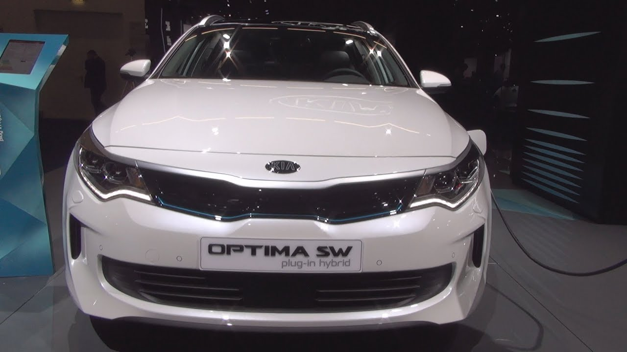 kia optima sportswagon plug in hybrid spirit 2018 exterior and interior youtube. Black Bedroom Furniture Sets. Home Design Ideas