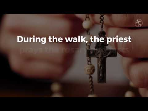 Czestochowa priests are on a pilgrimage 'relay' for vocations this summer