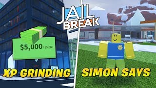 Roblox Jailbreak Live!🔴NEW CODES!| Grinding XP,LEVELS 💸 & Simon Says! | Come Join me! 😄💖