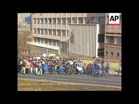 South Africa - Miners March