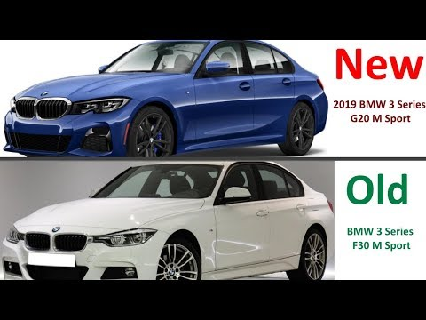 New 2019 Bmw 3 Series G20 Vs Old 2017 Bmw 3 Series F30 Youtube