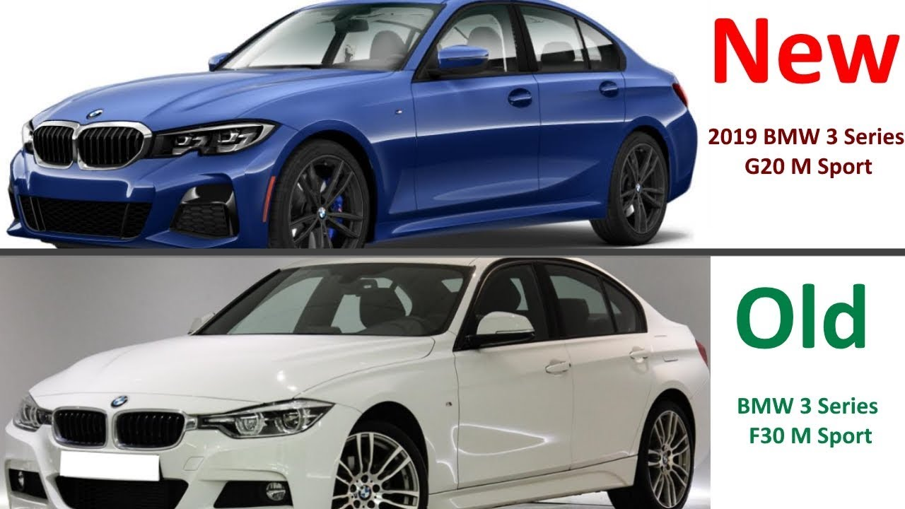 New 2019 Bmw 3 Series G20 Vs Old 2017 Bmw 3 Series F30