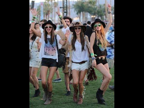 Coachella/ Music Festival Inspired Spring Lookbook