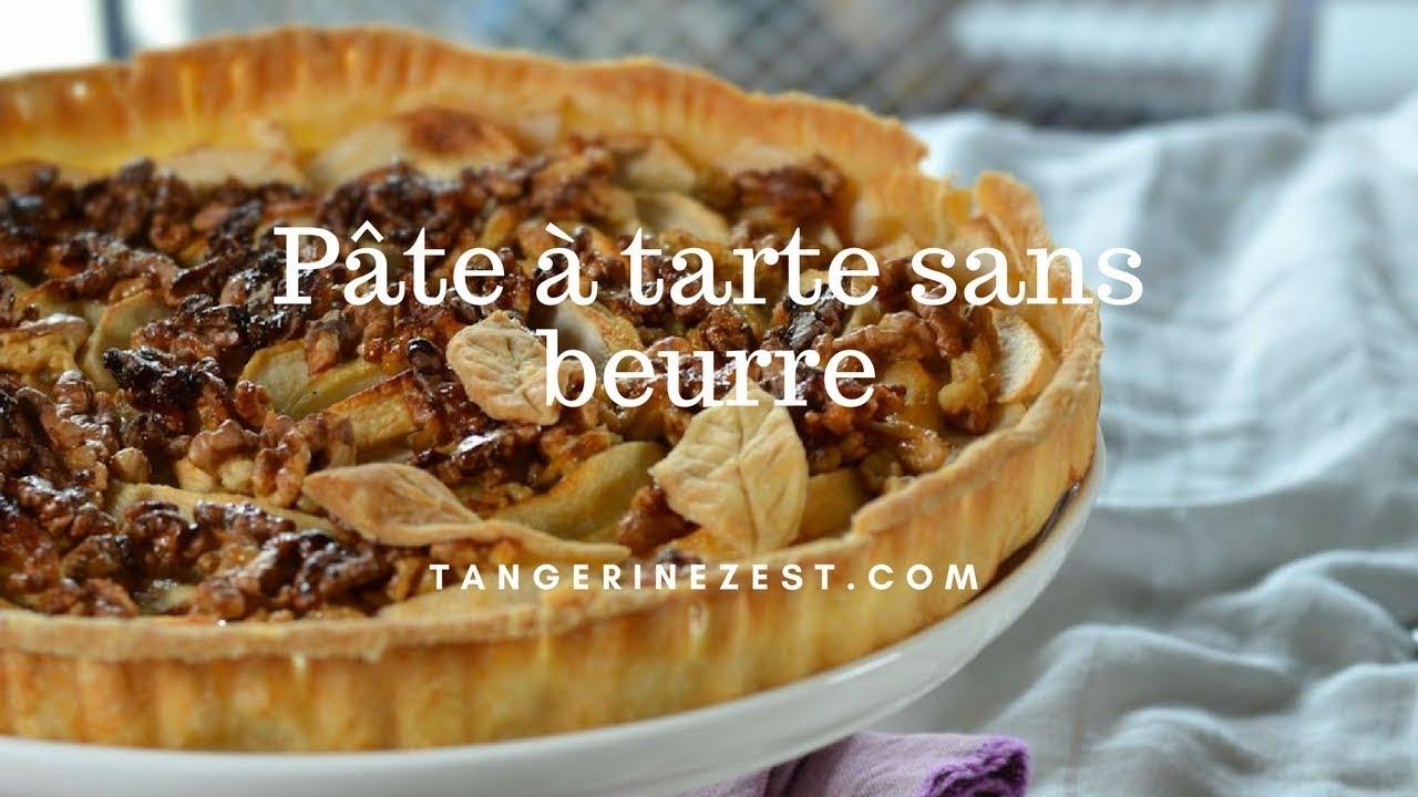 pâte à tarte sans beurre recette facile et rapide