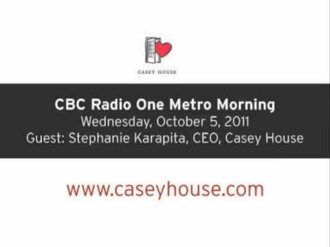 Casey House Redevelopment News on CBC's Metro Morning