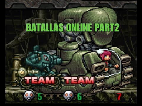 Metal Slug Attack - 3 CRANK PLAY + ONLINE TEAM NEW PILOT Part2.