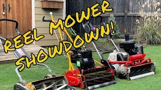 Reel Mower - Reel Mower Comparison. What to look for when you make the jump!