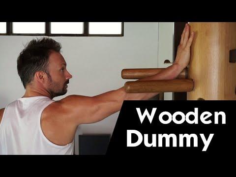 Wooden Dummy Basic Training Videos - Wooden Dummy Tutorial (PART 1)