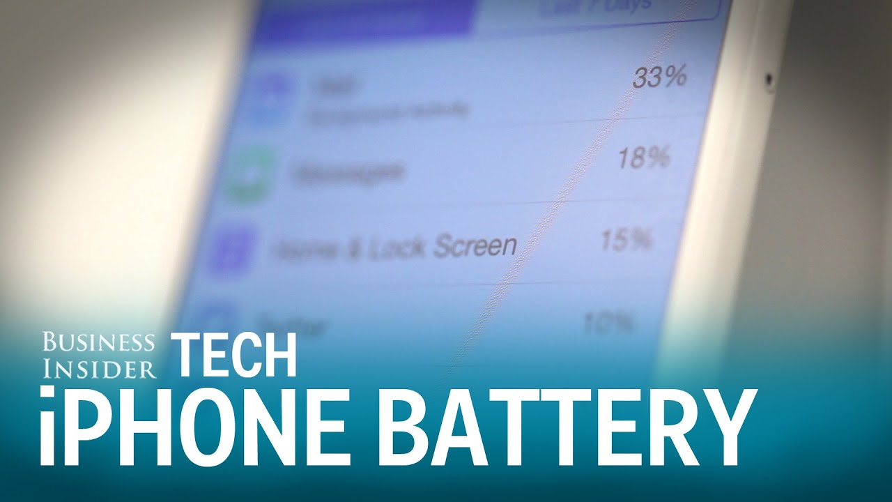 Check Your iPhone Battery