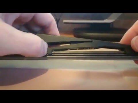 Замена резинки дворника щетки стеклоочистителя на Opel astra J GTC