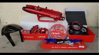 Installing Racingboy Products [] Sniper150 [] Y15ZR  [] Episode 21