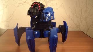 Огляд іграшки Combat Creatures Attacknid Stryder (перевірено на дітях!)