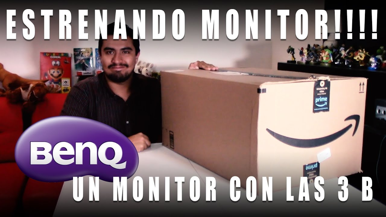 Unboxing BenQ GW2480 un monitor con las tres b - YouTube