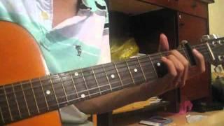 Phía sau ánh mắt buồn Guitar cover by Mạnh Khùng