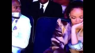 Rihanna Duct Taped Floyd Mayweather