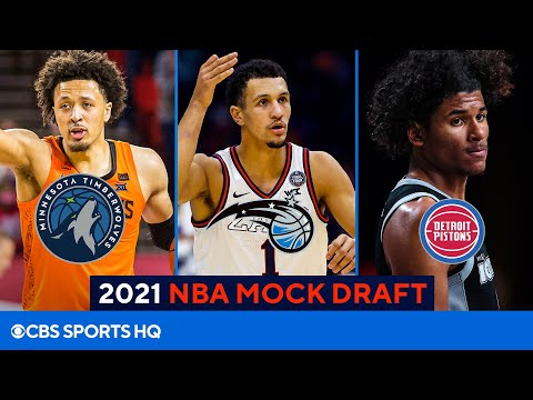 2021 NBA Mock Draft: Cade Cunningham, Jalen Suggs go in the Top 5 | CBS Sports HQ