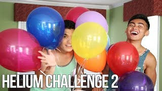 THE HELIUM CHALLENGE 2!
