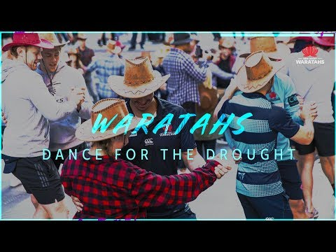 NSW Waratahs dance for the drought