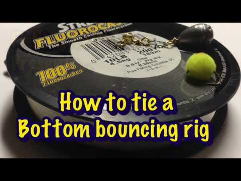 How To Tie A Bottom Bouncing Rig