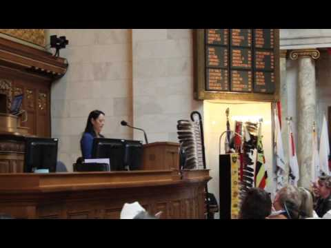 WI. State of Tribes Address 2017 Shannon Holsey