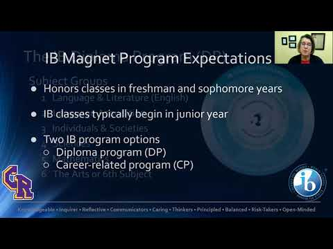 Columbia River High School IB Magnet Night 2021: Introduction & How to Apply