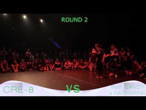 Urban Moves | 3 vs 3 Allstyle | Cre-8 vs Inxi, Sandy & Katharina | Final