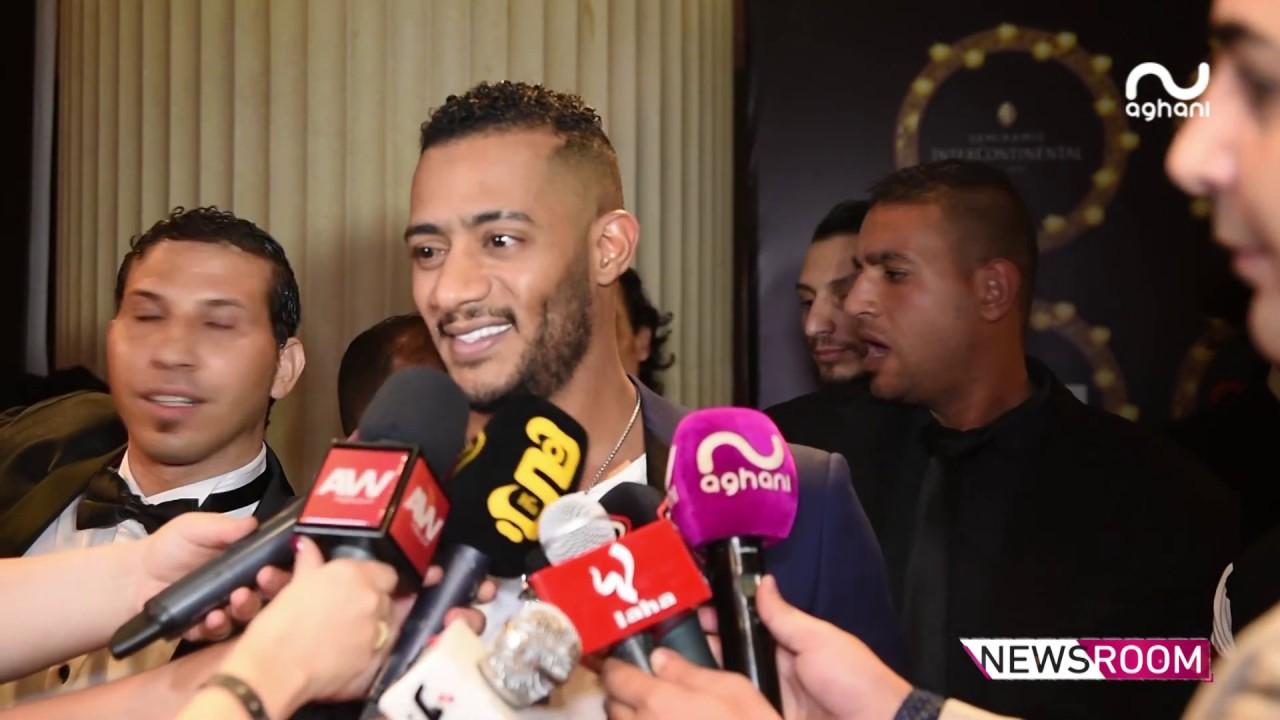 رامي عياش,نادين نجيم و محمد رمضان في كواليس مهرجان الفضائيات!
