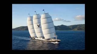 НА БОРТУ СУПЕР МЕГА ЯХТЫ MALTESE FALCON(САЙТ СУДНА: http://symaltesefalcon.com/ The Maltese Falcon парусная яхта, построенная компанией Pleon Limited. При длине 80 м является..., 2016-08-06T12:54:02.000Z)