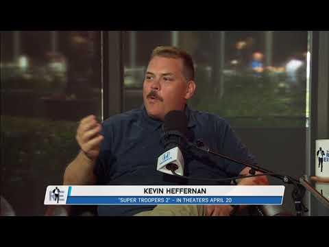 "Writer & Actor Kevin Heffernan ""Super Troopers 2"" in Studio I Full Interview - 4/13/18"