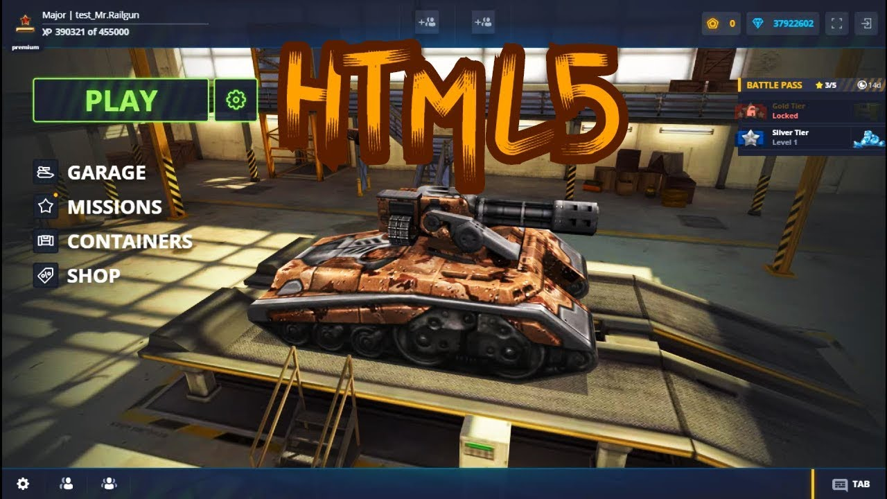 Tanki Online Testing Html5 Version Youtube