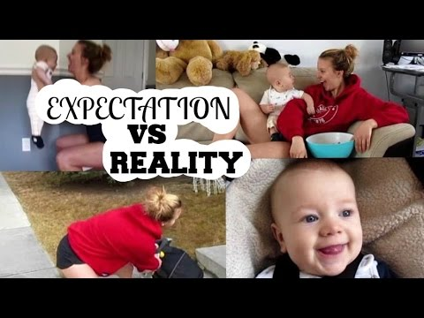 BABY EXPECTATIONS VS REALITY