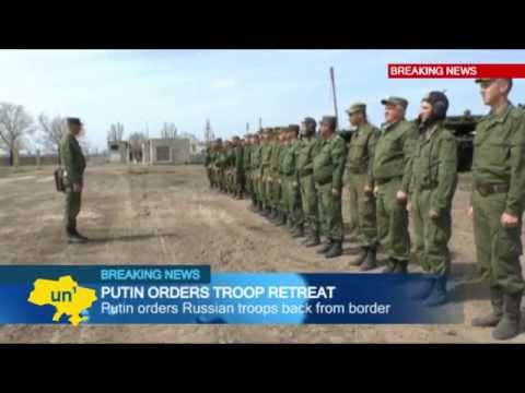 Russian Invasion Threat: Putin orders Russian troops back from Ukrainian border regions