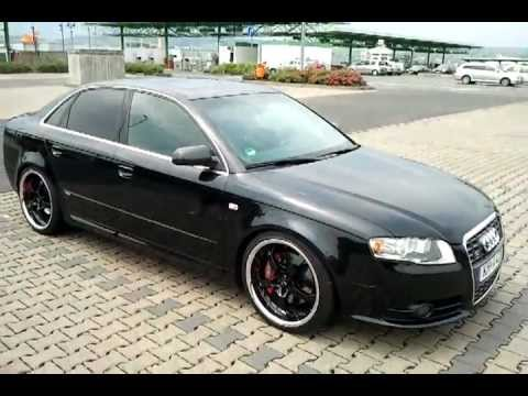 audi a4 b7 2 0 tfsi quattro black wheels youtube. Black Bedroom Furniture Sets. Home Design Ideas