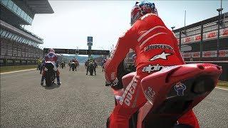 MotoGP 17 - Ducati Desmosedici 2007 - Test Ride Gameplay (PC HD) [1080p60FPS]