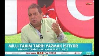 Fransa - Türkiye Erman Toroğlu Milli Maç Öncesi Yorumları / A spor
