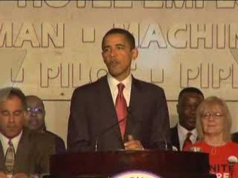 Barack Obama: Speech to the Pennsylvania AFL-CIO